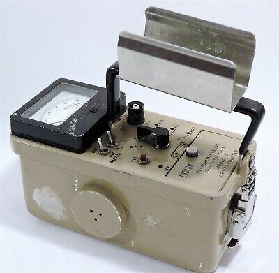 Ludlum Measurements Model 3 Survey Meter Geiger Counter