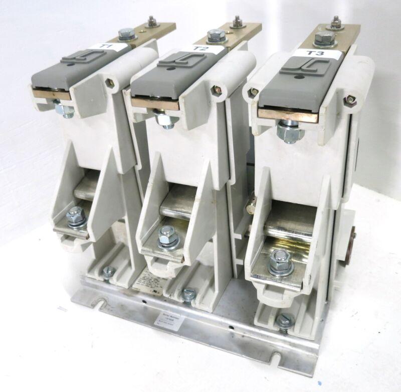 Joslyn Clark MVC77U034A72-76 USA VAC 400A Vacuum Contactor 7.2 kV 400 Amp 3PH