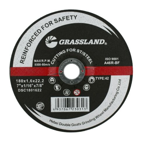 """Stainless Steel Cut-off Wheel Depressed Center 7"""" x 1/16"""" x 7/8"""" - T42 (5 PACK)"""