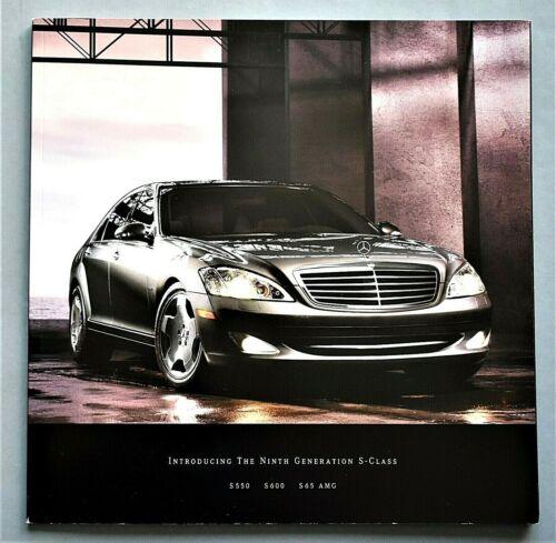 ORIGINAL 2007 MERCEDES AMG S65 - S550 & S600 PRESTIGE BROCHURE~44 PAGES~T07SAMG