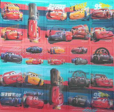 STICKER AUFKLEBER DISNEY CARS Pixar Deko Bastel Kind Geburtsta Junge Auto Rennen