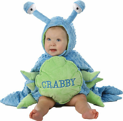 Crabby Toddler Child Costume Crab Sea Ocean Safari Animal Theme Party - Ocean Themed Halloween Costumes