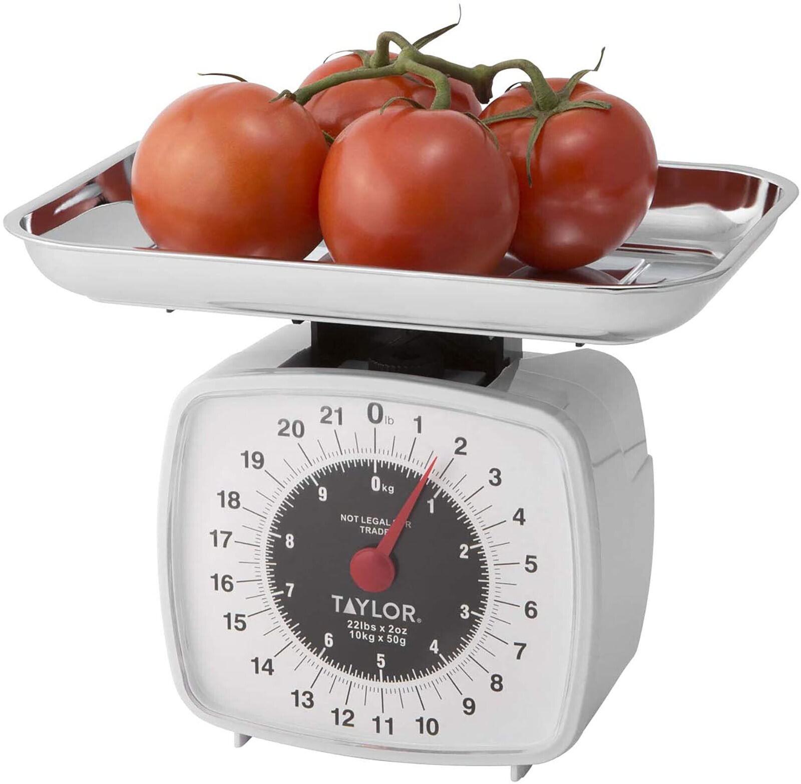 Food Kitchen Scale 22-Pound/10-Kilogram Analog Display Fruit
