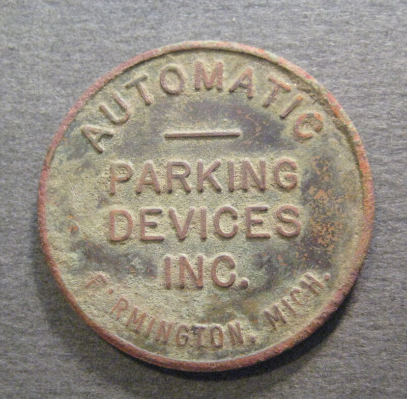 Automatic Parking Devices Inc. Token - * No Reserve * - (Q512)