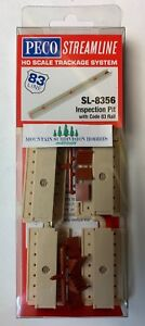 PECO SL-8356 HO Code 83 Inspection Pit (Kit) modular    MODELRRSUPPLY   $5 Offer