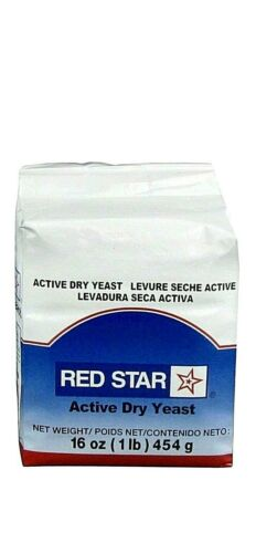 Red Star Active Dry Yeast- 1 Lb / 16 oz Fast Handling and ShippingExp 02/22