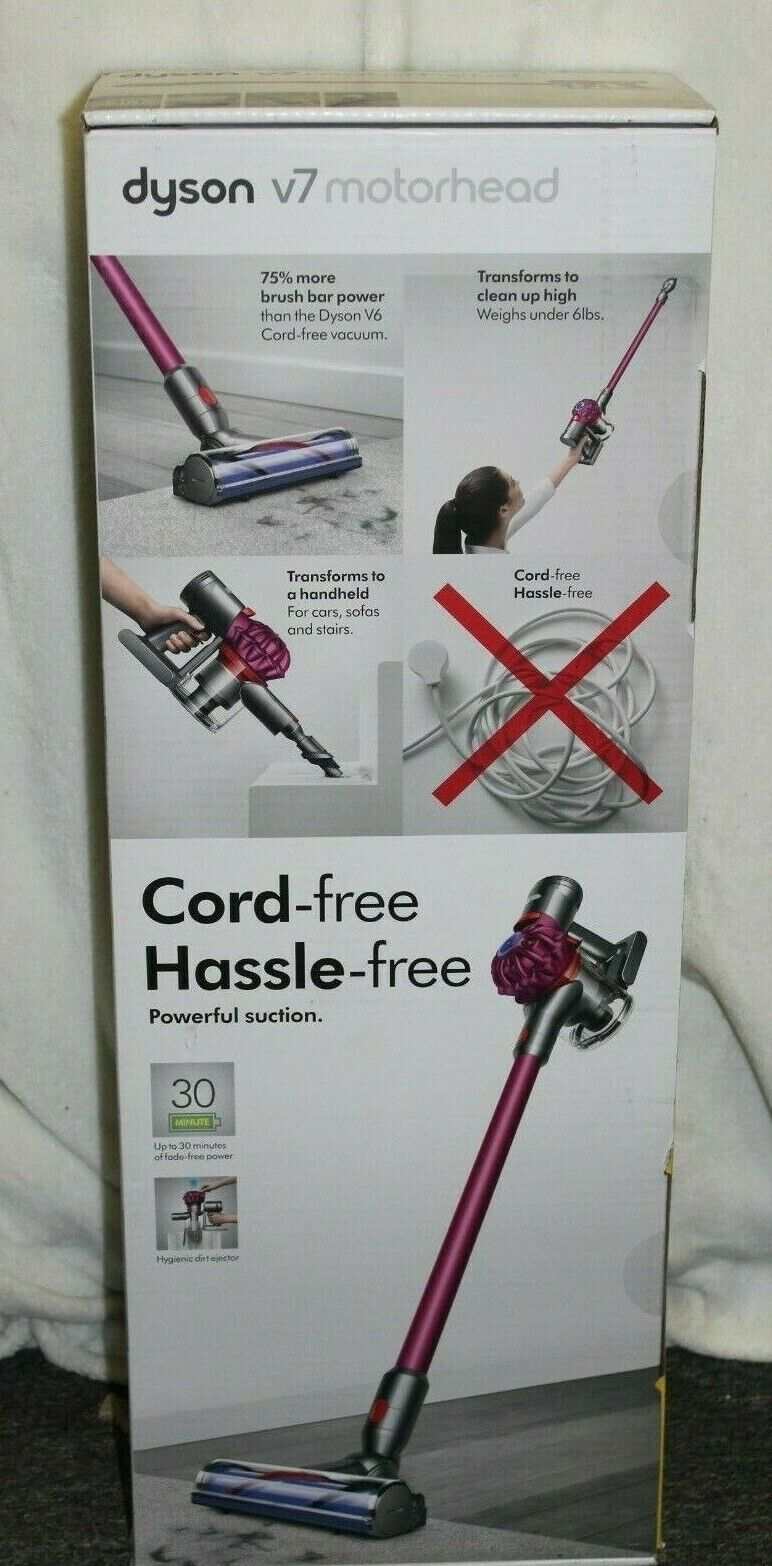 BRAND NEW DYSON V7 Motorhead Cordless Stick Vacuum Cleaner
