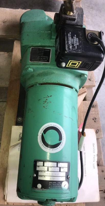 New Meyers Heavy Duty 1-1/2 HP Cast Iron Well Jet Pump Model 159-61437 / SJ15900