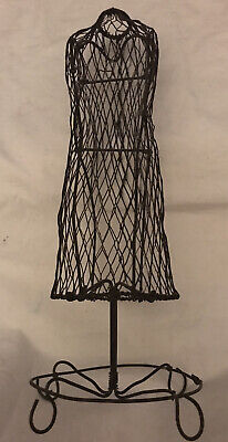 Miniature Body Form Jewelry Stand 13jewelry Display Stand. Mannequin Wire