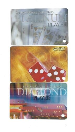 3 SANDIA  Casino  Slot / Players Cards