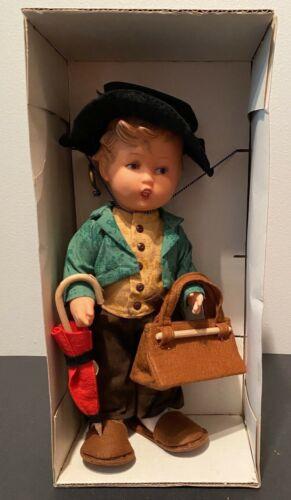 "Goebel Hummelwerk Spielwaren 11"" Doll - Original Box and Clothes"