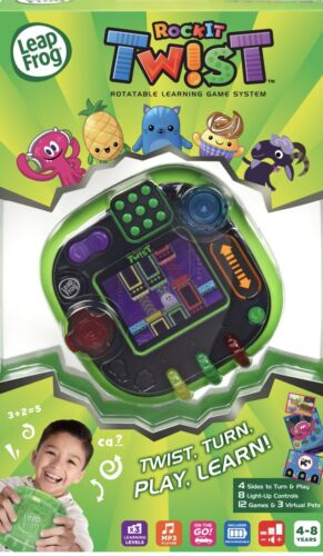 LeapFrog RockIt Twist Game System Green Handheld Learning Interactive 7FBLzc1 - $29.90