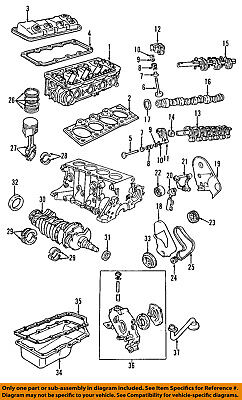CHRYSLER OEM-Engine Crankshaft Crank Seal 4667198