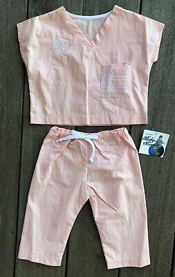 Baby Scrubs Set Personalization Pink Spanish Newborn Gift Novelty