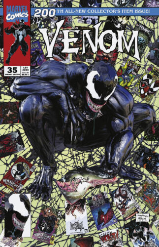🔥 VENOM #35 MIKE MAYHEW EXCLUSIVE CLASSIC TRADE DRESS VARIANT 200 SPIDER-MAN NM