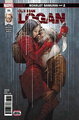 OLD MAN LOGAN #31 LEG contains a Marvel Value Stamp - MARVEL - US-COMIC - D558
