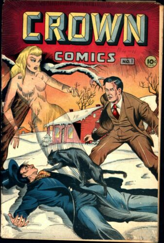 Crown Comics #1 Golden Age McCombs 2.0