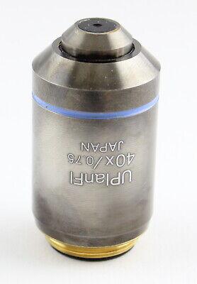 Olympus Uplanfl 40x 0.75 Microscope Objective Ax Bx Ix