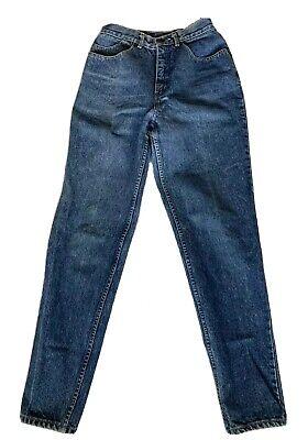 "Vintage Coca Cola Jeans women's size 8 stonewash straight leg waist 25"" Retro"