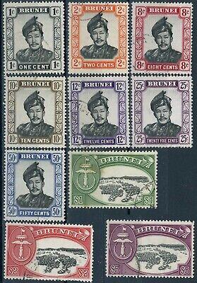 sa3584 Brunei - Sc#83//96 Canceled