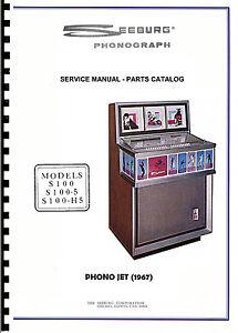 manuale completo manual jukebox seeburg s 100 es 100. Black Bedroom Furniture Sets. Home Design Ideas