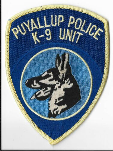 Puyallup Police Department, Washington K-9 Shoulder Patch
