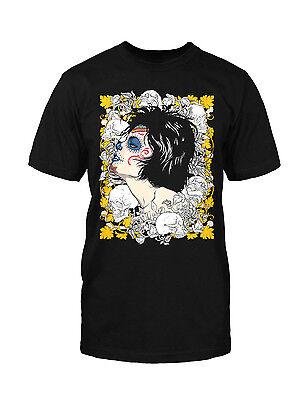 Tag Der Toten T-shirt (La Catrina Skull T-Shirt dia de los Muertos Tag der Toten Schädel Mexico South )