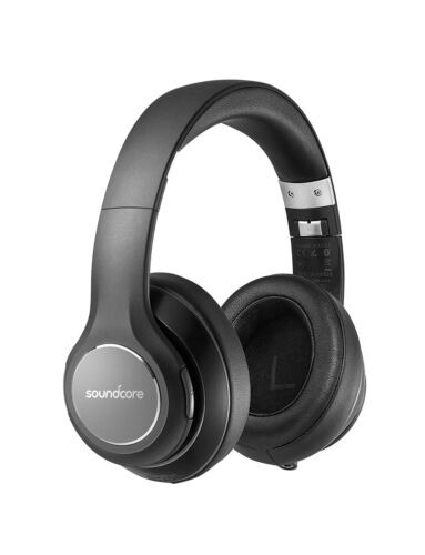Anker Soundcore Vortex Wireless Headset Over Ear Hi-Fi Stereo Headphone w/ Case