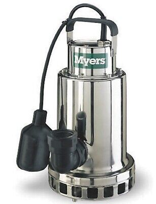 Myers Sump Pump Ds50p1 12 Hp 115v New Stainless Steel Ds Series