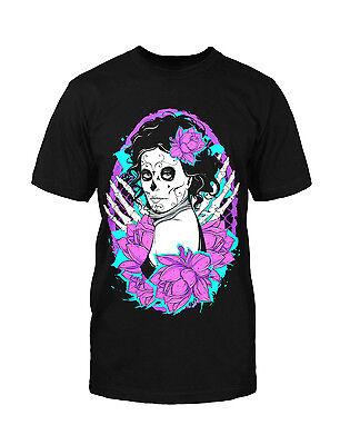Tag Der Toten T-shirt (La Catrina T-Shirt dia de los muertos Tag der Toten Mexico Göttin Halloween Kult)