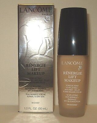 Lancome Renergie Lift Foundation  Makeup SPF 20 - 310 Clair 30 (C) NIB