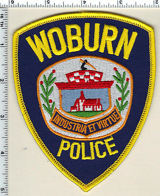 For sale Woburn Police (Massachusetts) Shoulder Patch new from 1992