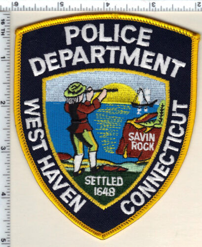 West Haven Police (Connecticut) Shoulder Patch - new from 1992