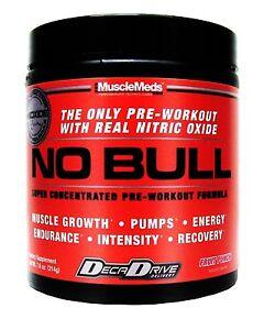 No bull pre workout