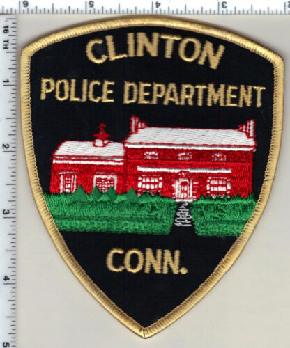Clinton Police (Connecticut) Shoulder Patch - new from 1992