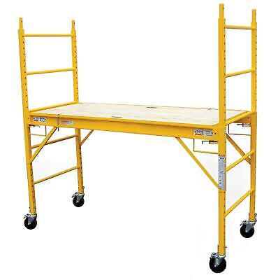 Pro Series 6 Ft. Locking Casters Multi-purpose Scaffold With 1000 Lb. Capacity