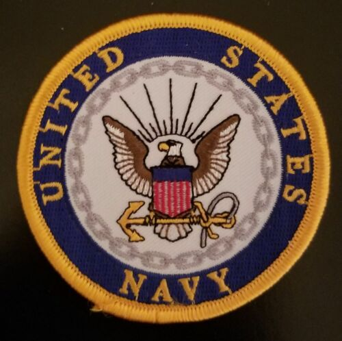 US NAVY 3 INCH ROUND PATCH - NEW DESIGN - MADE IN THE USA!