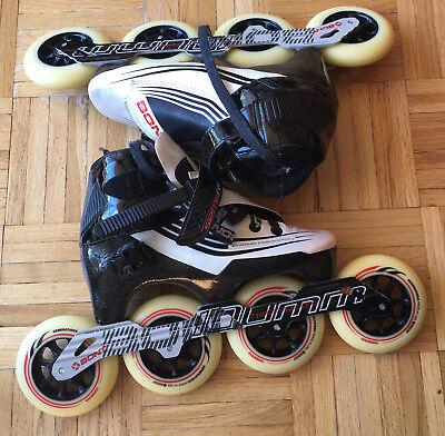 Bont Jet Inline Skates Pilot Striker All Wheel Drive-Atom Wheels Size 5 Inlineskating-Artikel