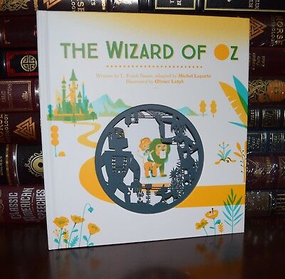 The Wizard of Oz by F. Baum 3D Cut Pop-up Illustrated Hardcover Classics Gift
