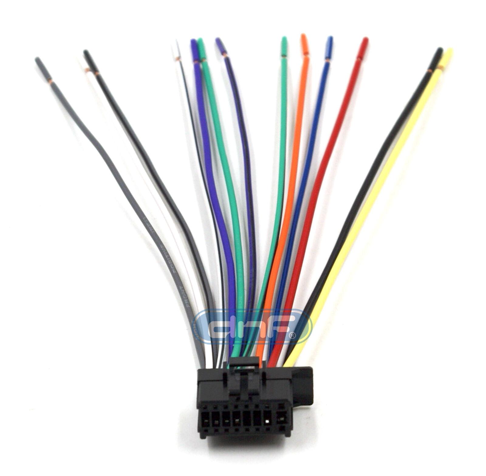 pioneer deh p5200hd deh p6200bt dxt 2266ub wiring harness ships rh picclick com