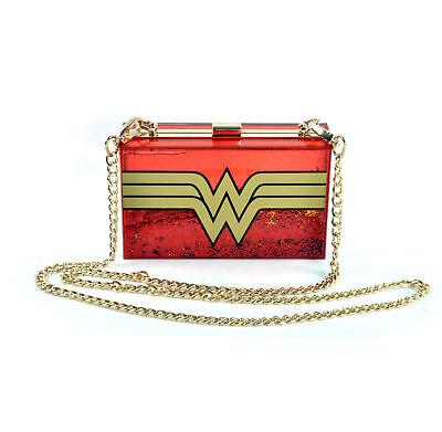 Wonder Woman Glitterbox Umhängetasche