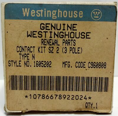 Westinghouse 1605202 Contact Kit