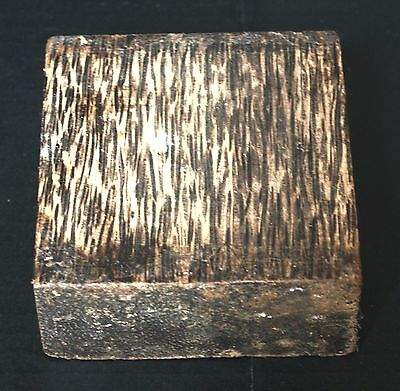 "BLACK PALM TURNING WOOD BOWL BLANK LATHE(5""X5""X2"")- 1 PIECE FREE SHIPPING"