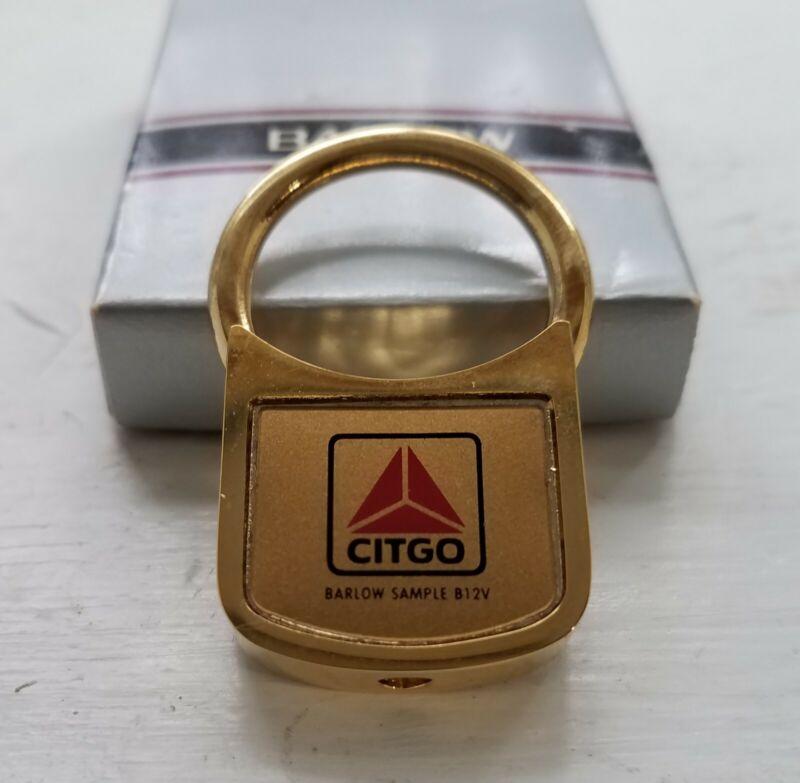 Citgo Keychain Barlow Metal Gas Oil Company