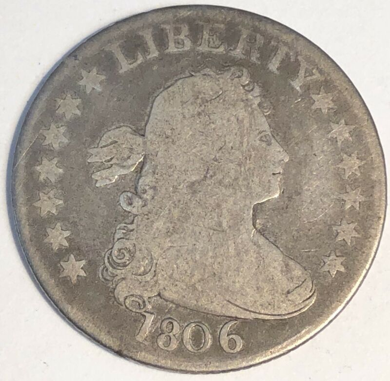 1806 Draped Bust Quarter.