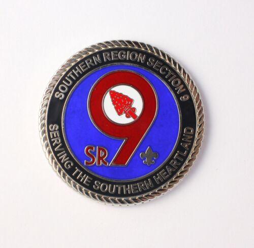 SR-9 OA Challenge Coin (blue) - 2018 Conclave - Coosa Lodge Host