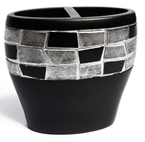 Popular Bath Mosaic Stone Black Bath Collection – Bathroom Tooth Brush Holder Bath