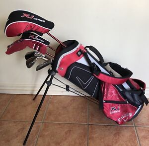 Callaway Junior XJ Series Golf Clubs Set Suits Ages 5-8 Years Old