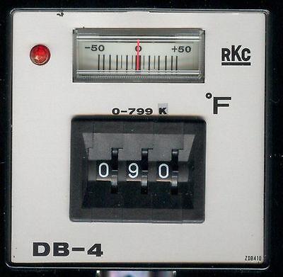 Rkc Temperature Controller Type K Thermocouple 0-799f 120240vac