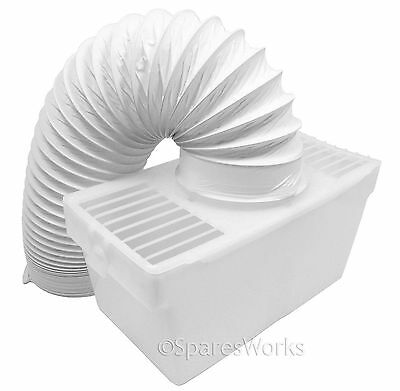 Zanussi Tumble Dryer Condenser Venting Vent Hose Ventillation Kit Box for sale  Shipping to Ireland